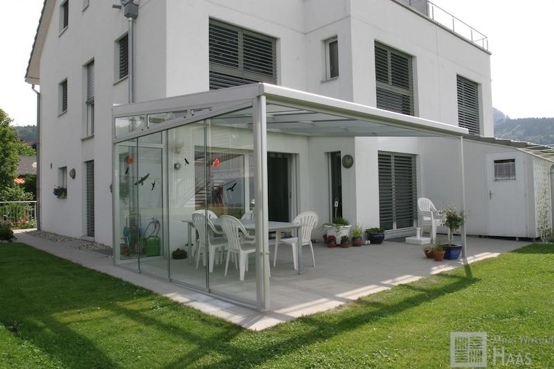 metallwerkstatt haas gmbh alu terrassen. Black Bedroom Furniture Sets. Home Design Ideas